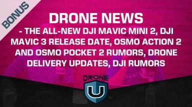Drone News – DJI Mavic Mini 2, DJI Mavic 3 Release Date, Osmo Action 2 and Osmo Pocket 2, DJI Rumors