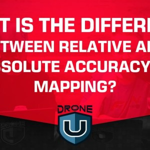 What is the Difference Between Relative and Absolute Accuracy in Mapping?