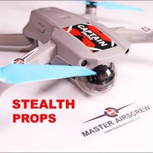 DJI Mavic Air 2 - New Stealth Props by Master Airscrew - Review