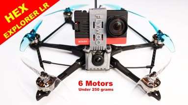 FLYWOO Explorer Hex LR is the BEST Long Range Drone - Feature packed and under 250 grams.  Review