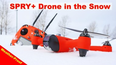 SPRY+ Drone is Snow Proof - Weather Proof