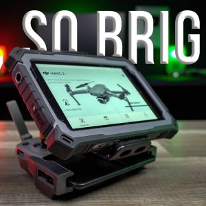 The Tripltek Tablet for Drone Pilots - See the LIGHT!
