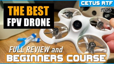 BEST FPV DRONE for Beginners? - $159 BetaFpv CETUS Rtf Drone - Review & Beginner Drone Class