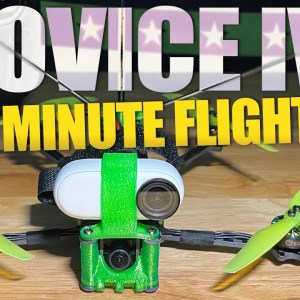 BEST BEGINNER DRONE with 38 Minute Flight time! - Eachine Novice IV RTF   REVIEW & FLIGHTS 🏁