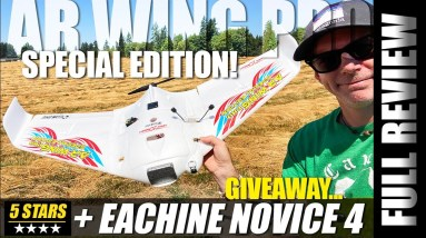 Eachine Sonicmodell AR Wing Pro Special Edition HD Fpv Wing - REVIEW & GIVEWAY! 🏆✈️