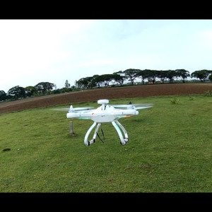CX-20 Quadcopter Altitude Flying, Return To Home, Crash Test, Aerial Video Footage