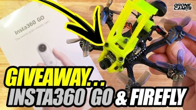 FREE INSTA360 GO & Flywoo Firefly Hexacopter I Giveaway Drawing