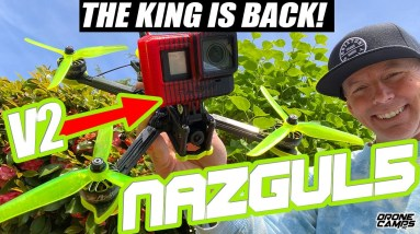 THE KING IS BACK!!! - iFlight Nazgul5 V2 Freestyle Quad Ripper - 2021 REVIEW & Flights
