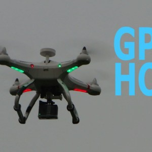 GPS Altitude Hold Cheerson Cx-20 Hands-Free Flying