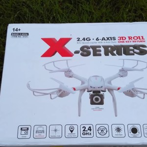 MJX X-Series X101 Quadcopter Unboxing and First Look