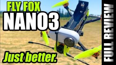 Better than HGLRC REKON 3? - Fly Fox NANO3 Long Range Fpv Drone - FULL REVIEW & FLIGHTS