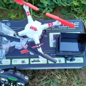WL Toys V686G FPV Quadcopter Test Flight Captured With Amkov 5000s Camera