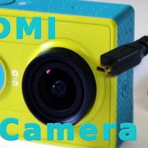 Xiaomi Yi Camera Live View on HDMI TV