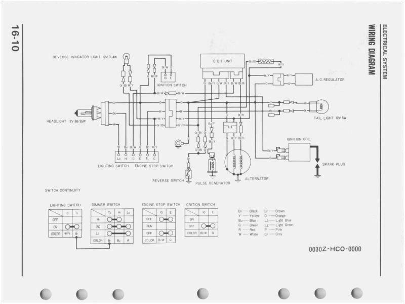 1987 Honda TRX250 Service Manual