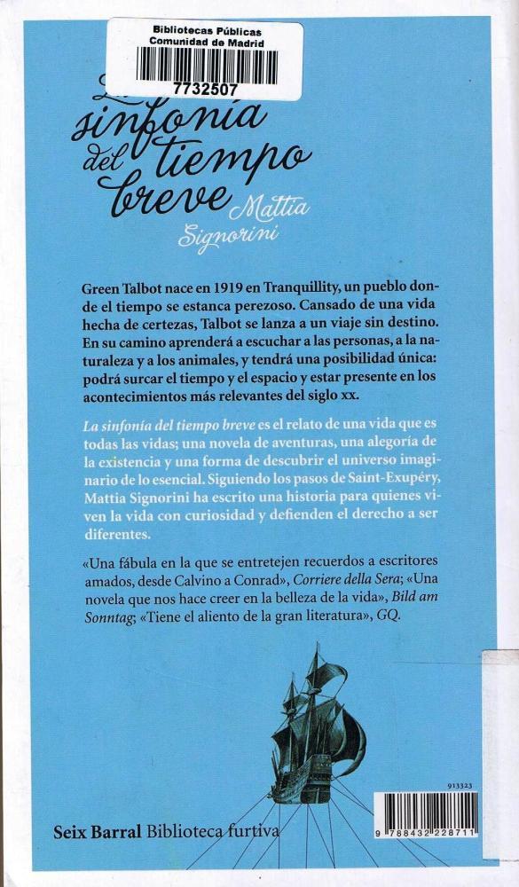 LA SINFONÍA DEL TIEMPO BREVE (2/2)