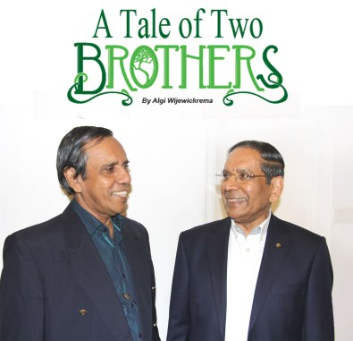 A Tale Of The Two Brothers