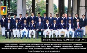 Trinity College Kandy 1st XI 2016