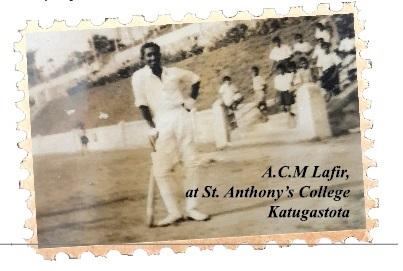 ACM Lafir at Katugastota Grounds, St. Anthony's College 1950's