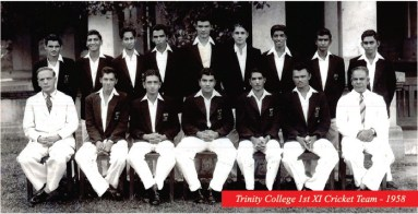 trinity-college-1st-xi-cricket-team-1958