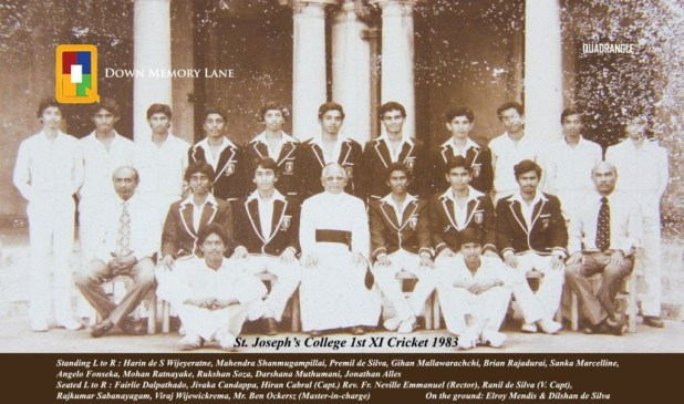 st-josephs-college-1st-xi-1983