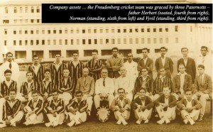 Freudenberg cricket team