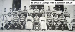 St.Peter's 1966 1st XV