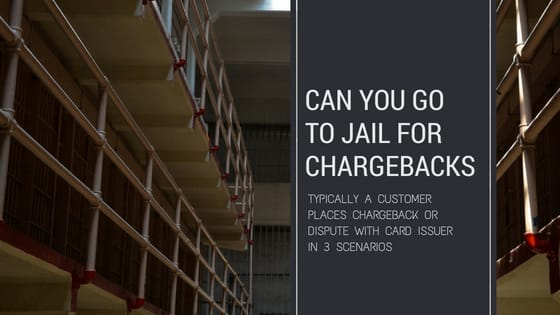 Can you go to jail for chargebacks