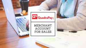 Merchant Account for Sales