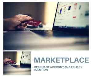 Marketplace Merchant Account And Echeck Solution