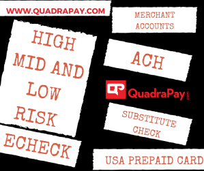 High Risk Merchant Account - Quadra Services