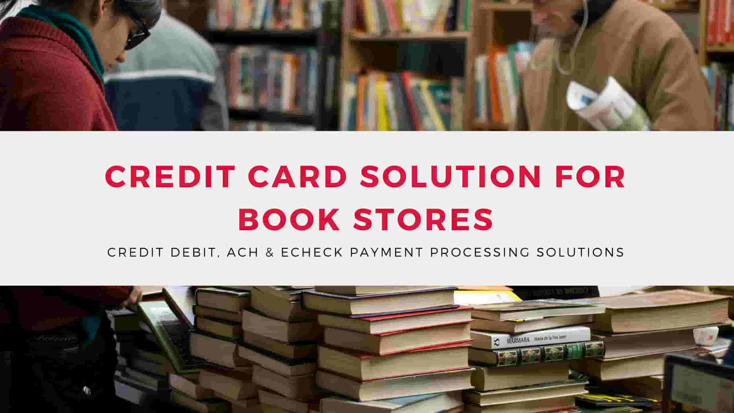 Merchant Account for Book Stores