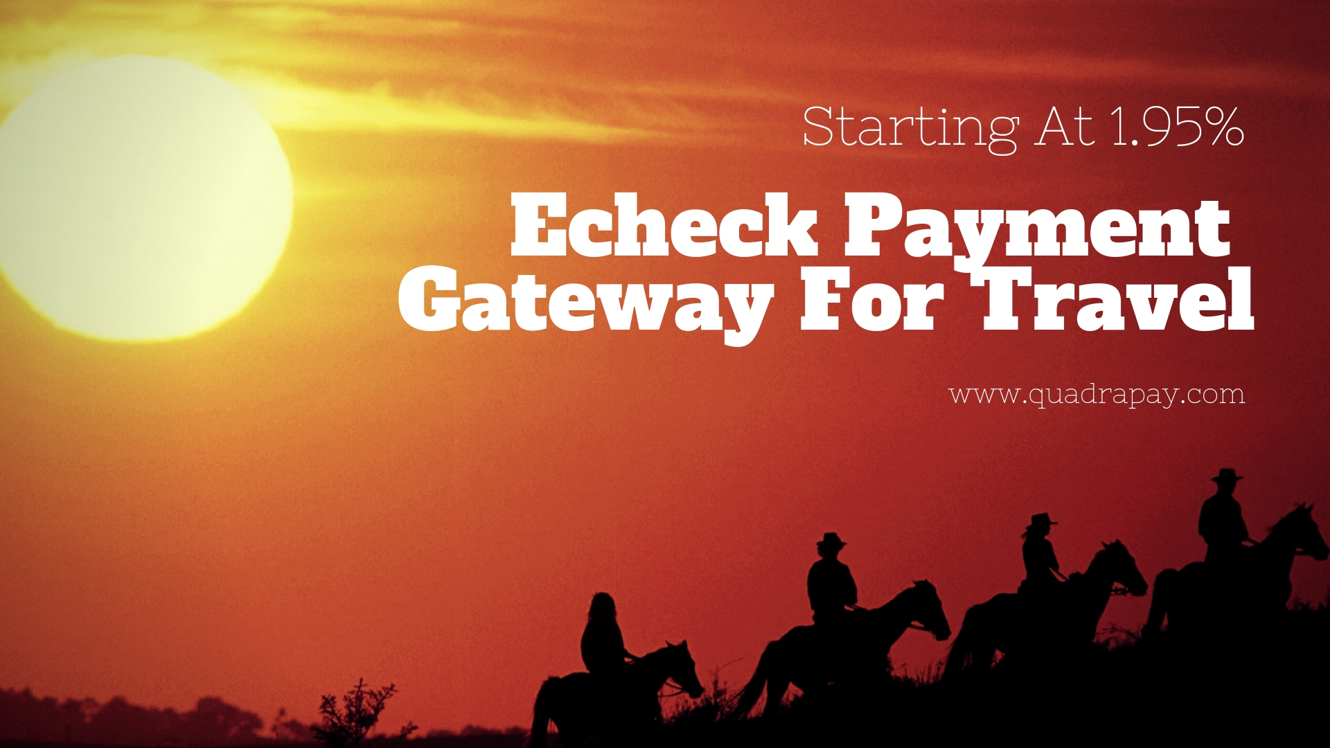 Echeck Payment Gateway For Travel