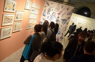 Exposição Macanudismo em São Paulo