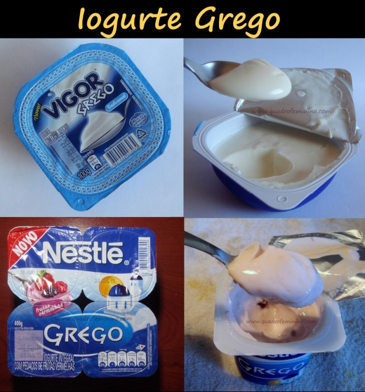 Quadro Feminino - Iogurte Grego