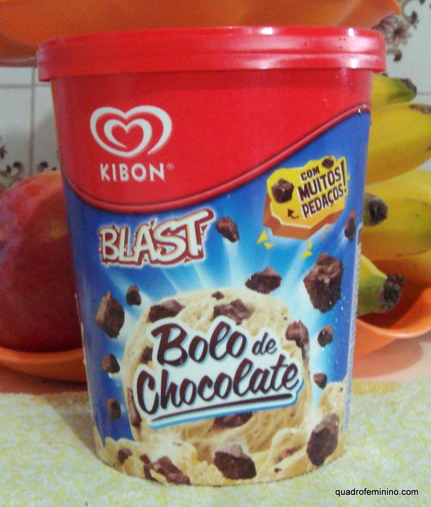 Blast Bolo de Chocolate Kibon