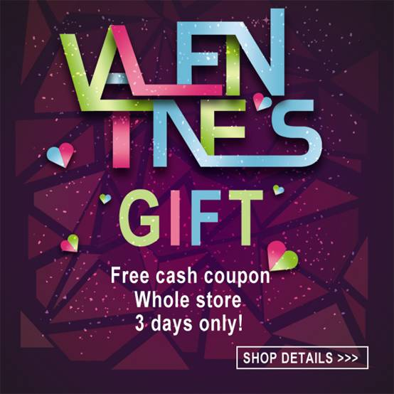 Big Sale for Valentine's Day