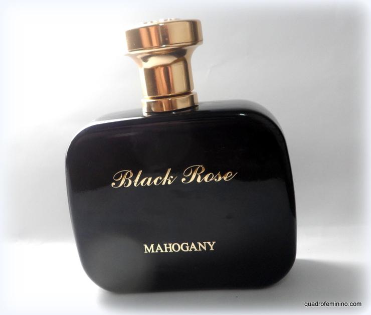 Fragrância Black Rose da Mahogany