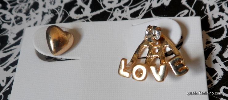 Brinco Heart&Love - Romwe