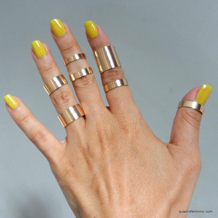 ROMWE Slick Multipack Rings - Anéis