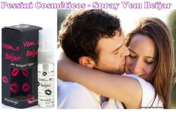 Spray Refrescante Vem Beijar