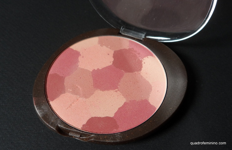 Blush Mosaico Rosado - Natura Aquarela