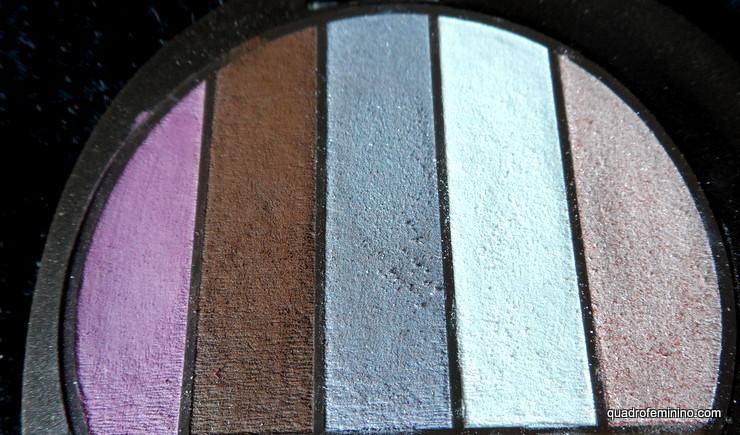 Quinteto de Sombras Natura Aquarela - Mistura de cores 01 (2)
