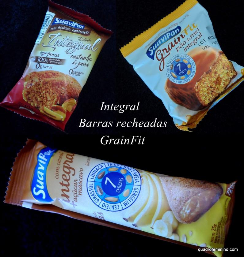 SuaviPan-Integral- Barras recheadas- GranFit