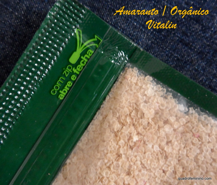 Amaranto - Vitalin Orgânica
