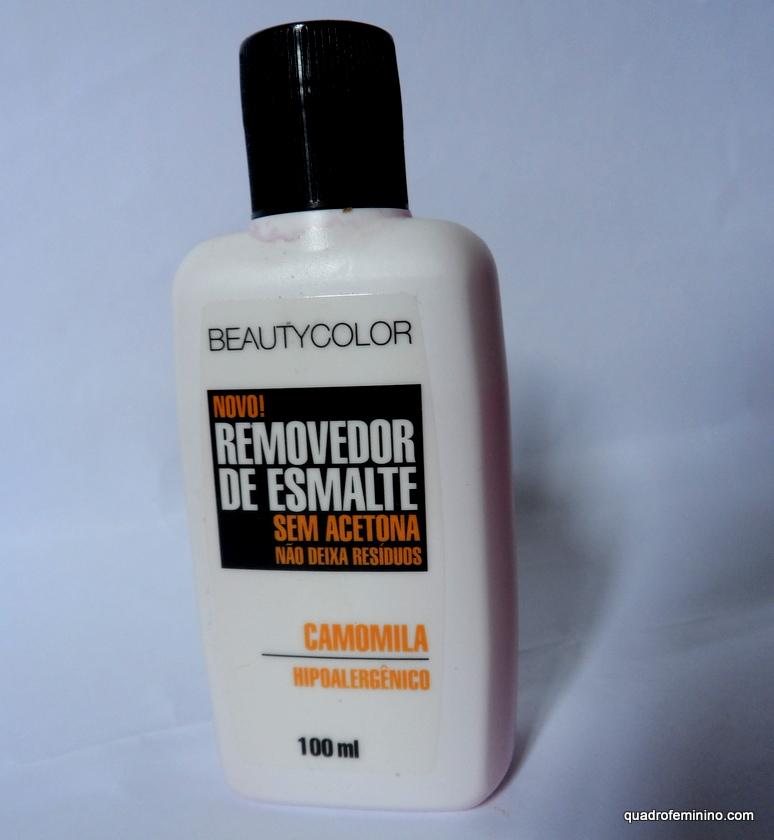 Removedor de Esmaltes Hipoalergênico Beauty Color