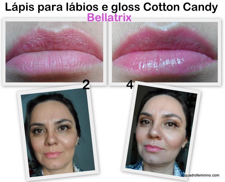 Beauty Treats Lip Trio Bellatrix - Cotton Candy
