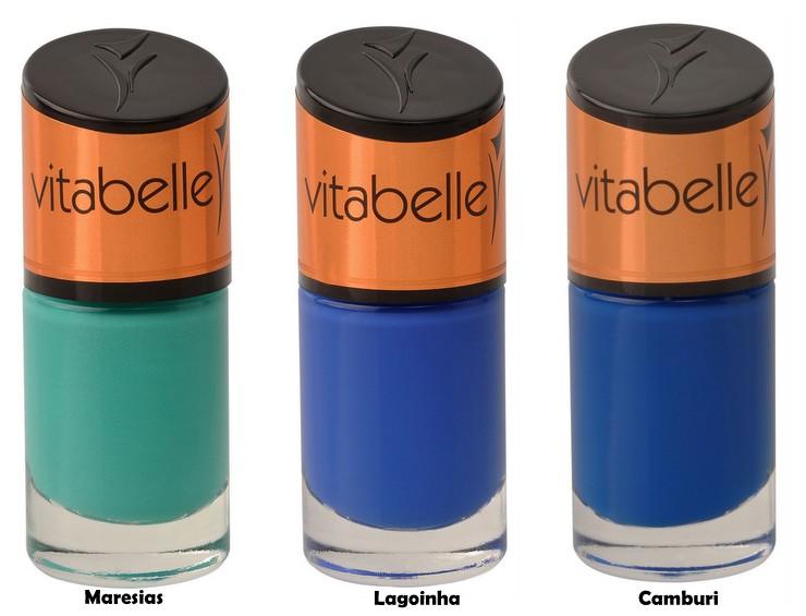 Esmaltes Vitabelle - Coleção Praias