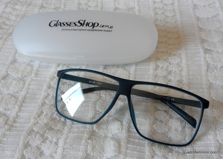 Lafayette Wayfarer Blue - GlassesShop