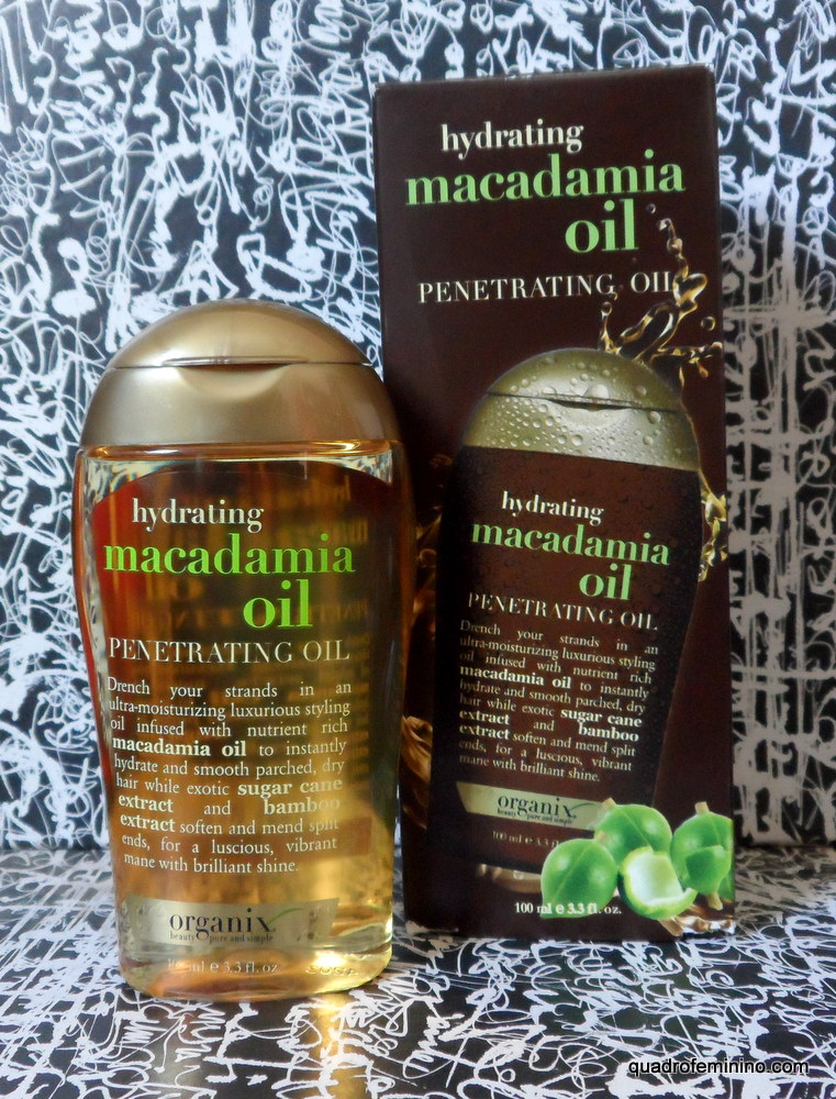 Organix Hydrating Macadamia Oil - Dry Styling Oil