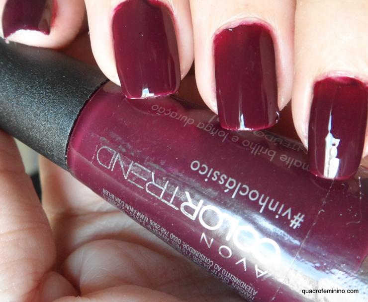 Avon Color Trend #vinhoclassico